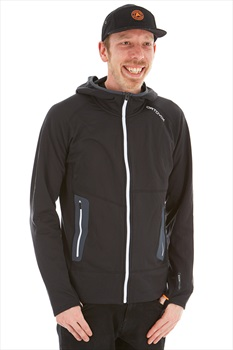 Ortovox Fleece Light Full Zip Hoodie, M Black Raven
