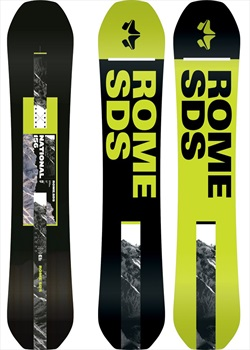 Rome National Positive Camber Snowboard, 154cm 2020