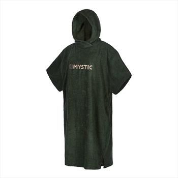 Mystic Toweling Poncho Change Robe, Regular Dark Leaf 2021