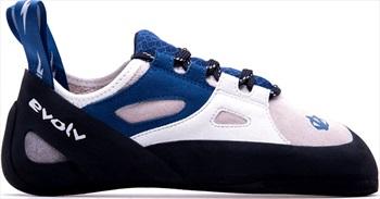 Evolv Skyhawk Rock Climbing Shoe, UK 7.5 | EU 41.5 Blue/White/Pink