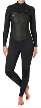 O'Neill Wetsuits Psycho Tech 5/4 Women's CZ Wetsuit, US 6 UK 8 Black