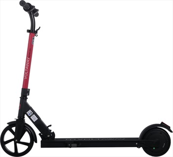 Voltaway Bowler 24/200 Folding Electric Scooter, 24v / 200W Black/Red