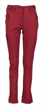 Five Seasons Larissa Womens Soft Shell Trekking Pants, UK 12 Dry Red