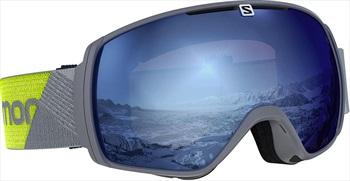 Salomon XT One Sigma Snowboard/Ski Goggles, M/L Grey Neon