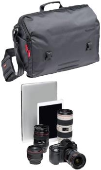 Manfrotto Speedy-30 Manhattan Messenger Camera Shoulder Bag, 16l Grey