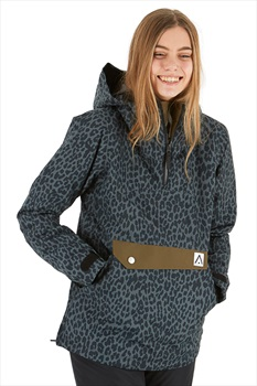Wearcolour Homage Anorak Women's Snowboard/Ski Jacket S Black Leo