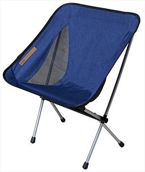 Nigor Morningbird Lightweight Camping Chair, Dark Blue Denim