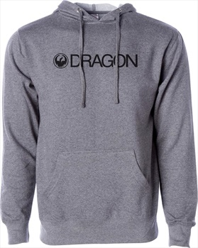 Dragon Trademark Hoodie, M Charcoal