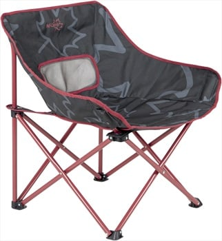 Bo-Camp Leevz Folding Chair Compact Camp Chair, Pine Red