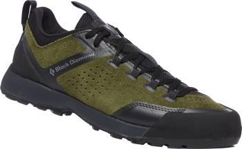 Black Diamond Mission XP Leather Approach Shoes, UK 11.5 Olive