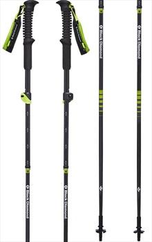 Black Diamond Distance Carbon AR Trekking Poles, 105-125cm Wasabi