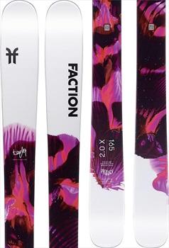 Faction Prodigy 2.0 Ski Only Skis, 165cm X 2020