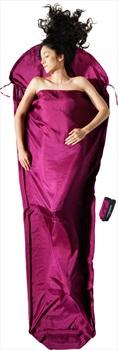 Cocoon MummyLiner Silk Ultralight Sleeping Bag Liner, Mulberry Red