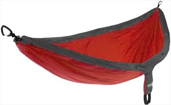 Eno SingleNest Lightweight Hammock, Single Red/Charcoal