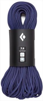 Black Diamond 7.9 Dry Rock Climbing Rope, 60m Purple
