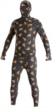 Airblaster Classic Ninja Suit Hooded Thermal Base Layer, S Pizza