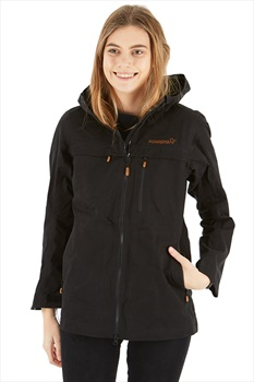 Norrona Svalbard Cotton Women's Windstopper Jacket, L Caviar Black