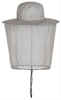 Craghoppers NosiLife Ultimate Mosquito Net Bucket Hat, S-M Parchment