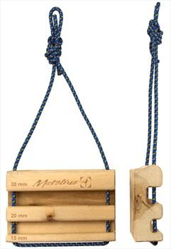 Metolius Wood Rock Rings Training Board, 15.24 X 10.16 X 3.8cm