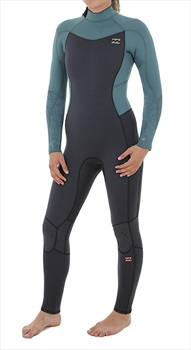 Billabong Furnace Synergy 4/3 Women's Wetsuit, UK4-8 2XS-XS Sugar Pine