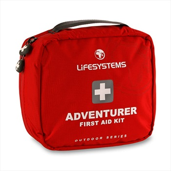 Lifesystems Adventurer Portable First Aid Kit, 29 items Red