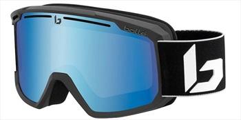 Bolle Maddox Vermillon Blue Snowboard/Ski Goggles M/L Matte Black Corp