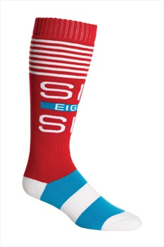 686 Knockout Sock 3 Pack Ski/Snowboard Socks One Size Multi