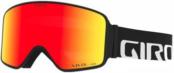 Giro Method Vivid Ember Snowboard/Ski Goggles, L Black Wordmark -