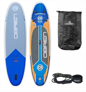 O'Brien Rio ISUP Paddleboard With Bag and FREE Leash, 11' Blue 2020