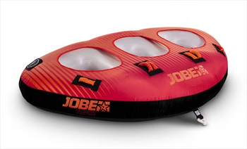 Jobe Triplet Towable Inflatable, 3 Rider Red Black 2020