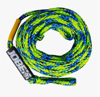 Jobe Heavy Duty Towable Tube Rope, 6 Rider Green Blue 2021