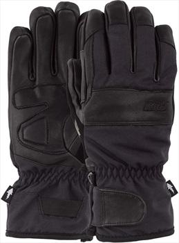 POW August Short Ski/Snowboard Gloves, S Black