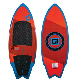 "O'Brien Maha Skim Style Wakesurfer, 53"" Or Red"