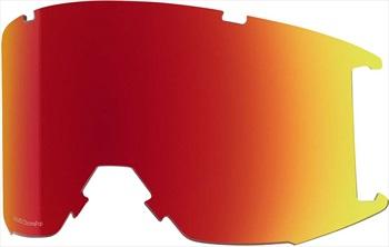 Smith Squad Snowboard/Ski Goggle Spare Lens, Photochromic Red