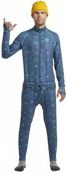 Airblaster Hoodless Ninja Suit Thermal Base Layer, L HE Navy
