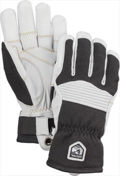 Hestra Army Leather Couloir Ski/Snowboard Gloves, L Black