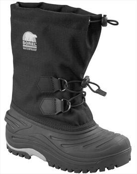 Sorel Super Trooper Kid's Snow Boots, UK Child 12 Black
