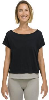 Oxbow Tipoli Women's Double Yoga T-shirt UK 8 Noir