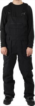 Volcom Adult Unisex Roan Bib Overall Snowboard/Ski Pants, M Black