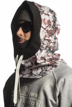 Brethren Apparel Storm Hood Ski/Snowboard Face Mask, Botanical