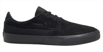 Nike SB Adult Unisex Shane Men's Skate Shoes, UK 8.5 Black/Black