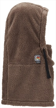Coal The Ridge Sherpa Fleece Snowboard/Ski Hood, One Size Brown