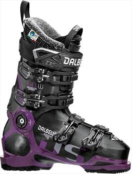 Dalbello DS 90 W Women's Ski Boots, 23.5 Black/Grape 2019