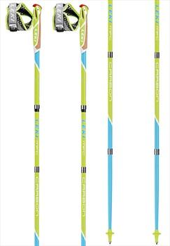 Leki Micro Flash Carbon Compact Nordic Walking Poles, 130cm
