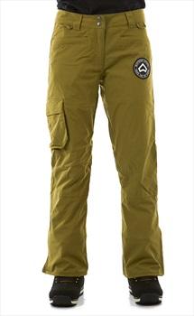 Westbeach Devotion Women's Ski/Snowboard Pants, S Combat Green