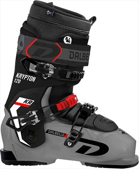 Dalbello Mens Krypton 120 Ax Id Ski Boots, 26.5 Anthracite/Black