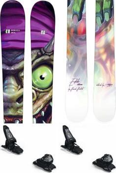 Armada Edollo Skis 180cm, Black/Green/Purple, Marker Griffon 13 ID, 2021