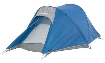 Macpac Nautilus Lightweight Trekking Tent, 2 Man Imperial Blue