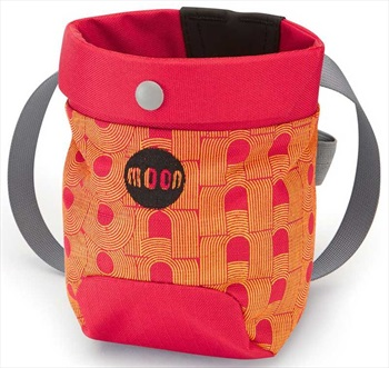 Moon Sport Rock Climbing Chalk Bag, One Size Retro Moon/True Red