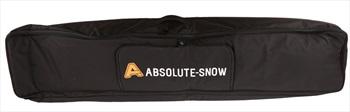 Absolute Hybrid Wheelie Ski/Snowboard Bag, 160cm All Black